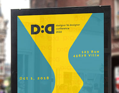 Adobe Live - D2D Conference Poster