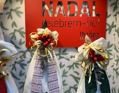 NADAL celebrem-ho!, window dressing
