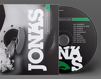 Diseño disco JONÁS
