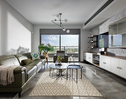 Apartment in Ganey Tikva by Amit Kedar