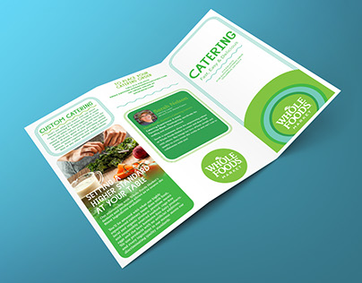 Whole Foods Market Easton Catering Trifold