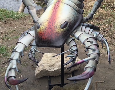 Sea Scorpion created for National Geographic