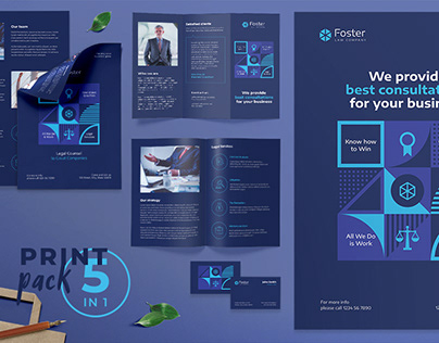 Law Company Templates Suite