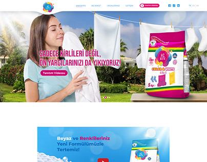 Hc Matik Detergent Ui and Banner Design