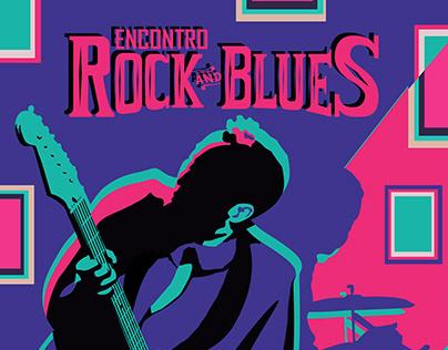Poster Encontro RockBlues