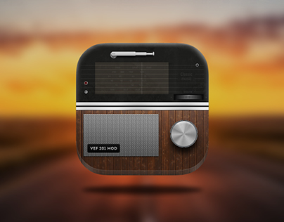 Radio VEF 201 MOD IOS icon