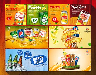 Food social media banner | social media post |