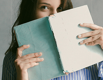 Girl with a book
