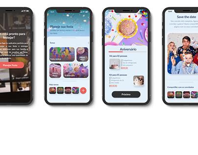 Festa no App