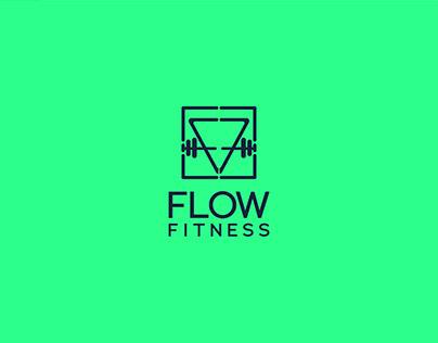 Flow Fitness Logo Design