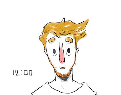Le mie 24 ore - Storyboard