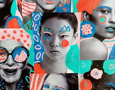 Collage intervention
