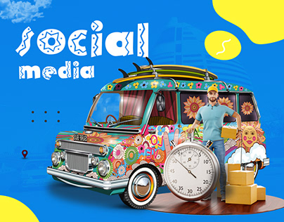 delivery social media