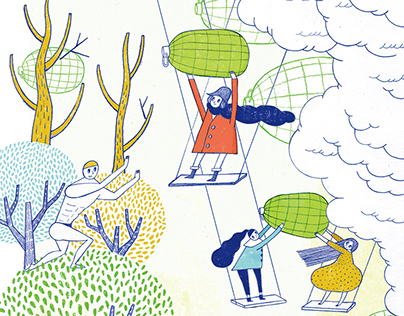 Fruit Poem Column in Magazine 2015