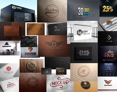 99+ Best Free Premium Logo Mockup 2021