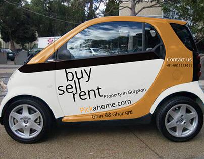 Concept car branding for pickahome