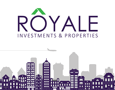 ROYALE - Investments & Properties Logo by Crafx Studio