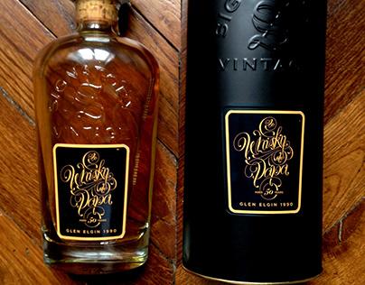 Le Whisky de Papa - Whisky Bottle branding