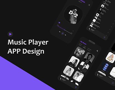 // Music App Design //