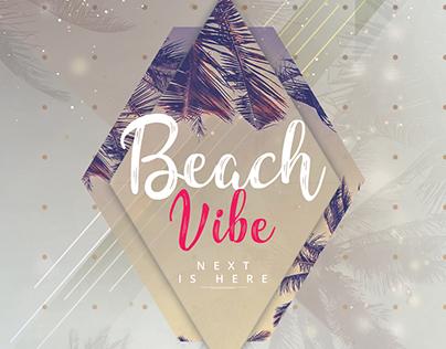 Beach Vibes - PSD Flyer Template