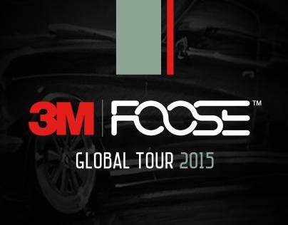 3M FOOSE GLOBAL TOUR 2015