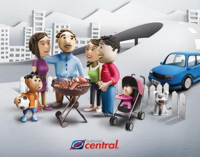Campaña para Autopista Central.
