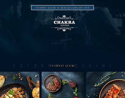 Chakra Fotoğraf Çekimi ve Menü Tasarımı