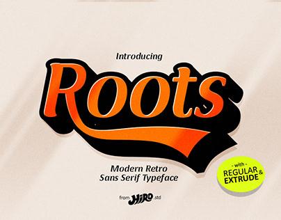 Roots - Modern Retro Font