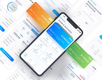 CAVU mobile banking application