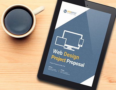 E-Book Web Design Project Proposal