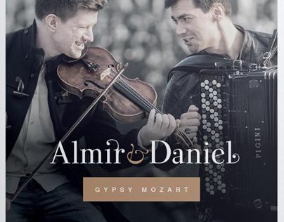Cd cover: Almir & Daniel
