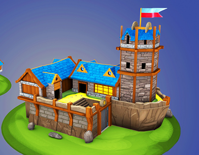 Browsergame Assets Low Poly