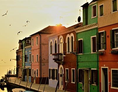 BURANO'S COLOR HOUSES