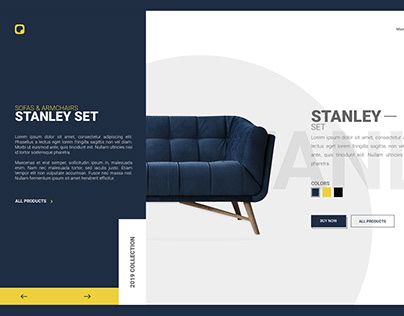 Sofas & Armchairs Landing Page