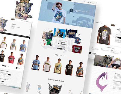 Coronation Apparel Webdesign