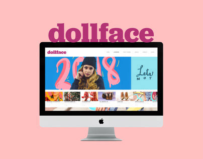 DOLLFACE fashion brand