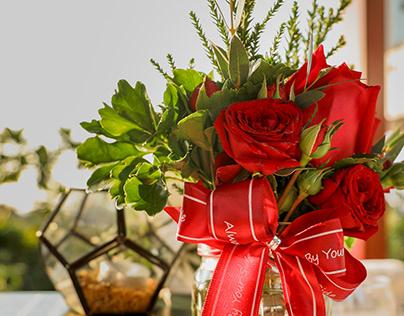 Valentines setup Crowne Plaza Vientiane 2020