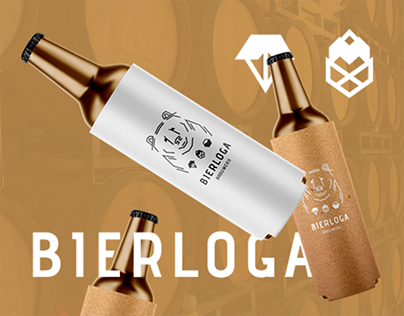 Bierloga | Beer Logo design