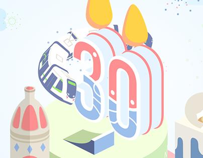 Les 30 ans du Tram