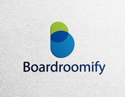 B Letter Modern Color Overlay Logo