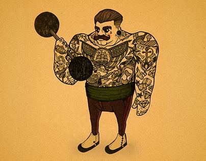 Character Design | Freak Show