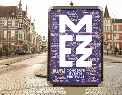 Mezz concert venue - rebranding