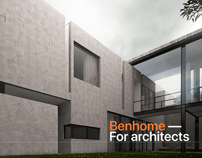 Benhome - Showcase Website for Architects and Designers