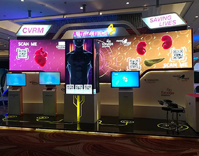 AstraZeneca CVRM Videos on Cardio Egypt Exhibition