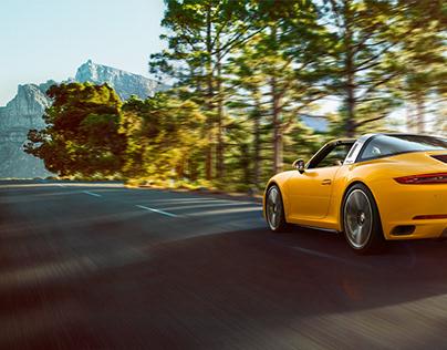 Porsche /// CGI