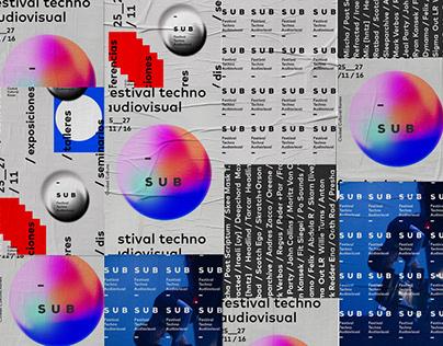 SUB - Festival Techno Audiovisual