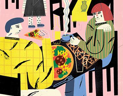 FAMILY in restaurant // KUKBUK magazine