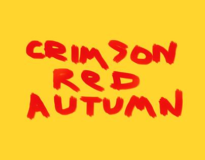 Crimson Red Autumn