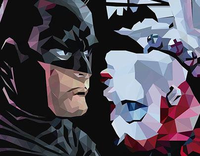 Batman e Harley Quinn LowPoly
