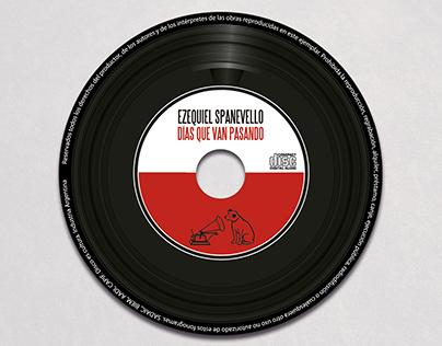 "Diseño CD | Ezequiel Spanevello ""Dias que van pasando"""